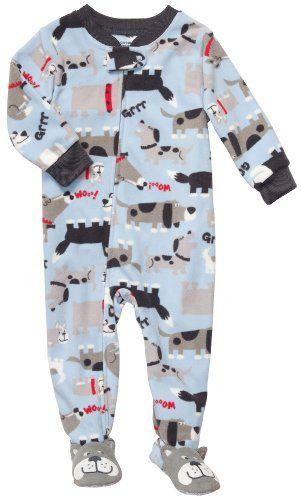 Carter S Toddler Footed Fleece Sleeper Dog Print 2t