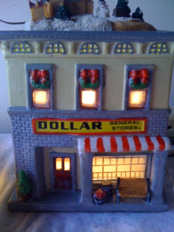 christmas village dollar general - Yes. There is a Dollar ...