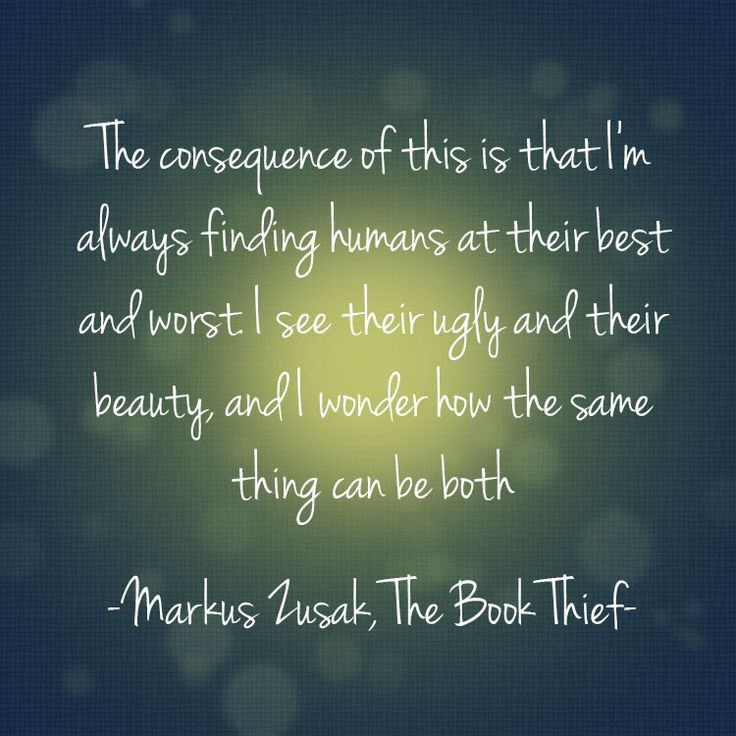 The Book Thief Death Quotes About Humans: 25+ Best Book Thief Quotes On Pinterest
