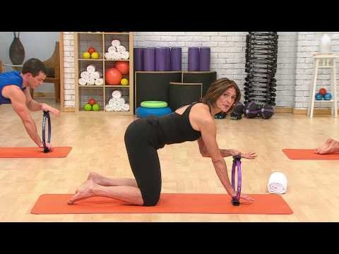 PILATES MAGIC CIRCLE WORKOUT with ALISA WYATT - YouTube