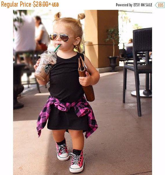 Maxi Dress Black Maxi Dress Toddler Maxi by LittleFootClothingCo