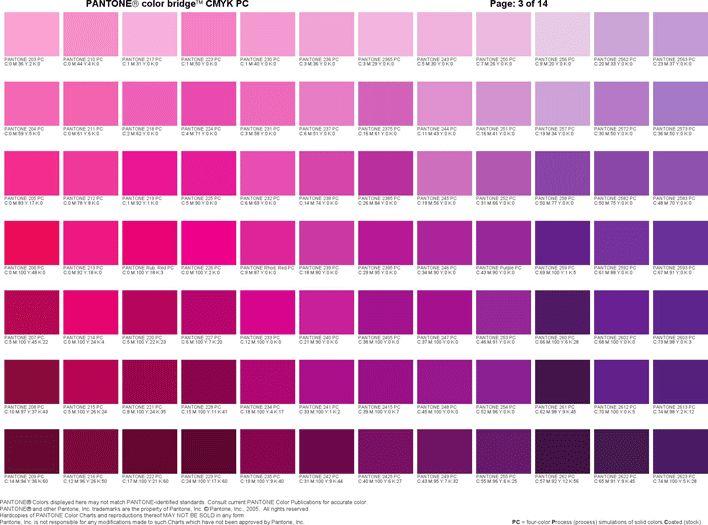 PANTONE Color Bridge CMYK PC