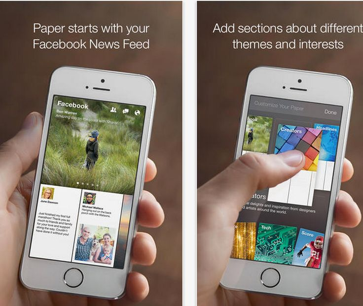 Facebook Has Just Released A New iPad App Called Paper