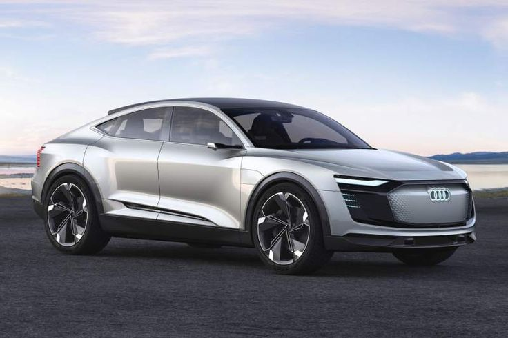 Sporty SUV-ish Audi E-Tron Sportback Concept Wows The Chinese