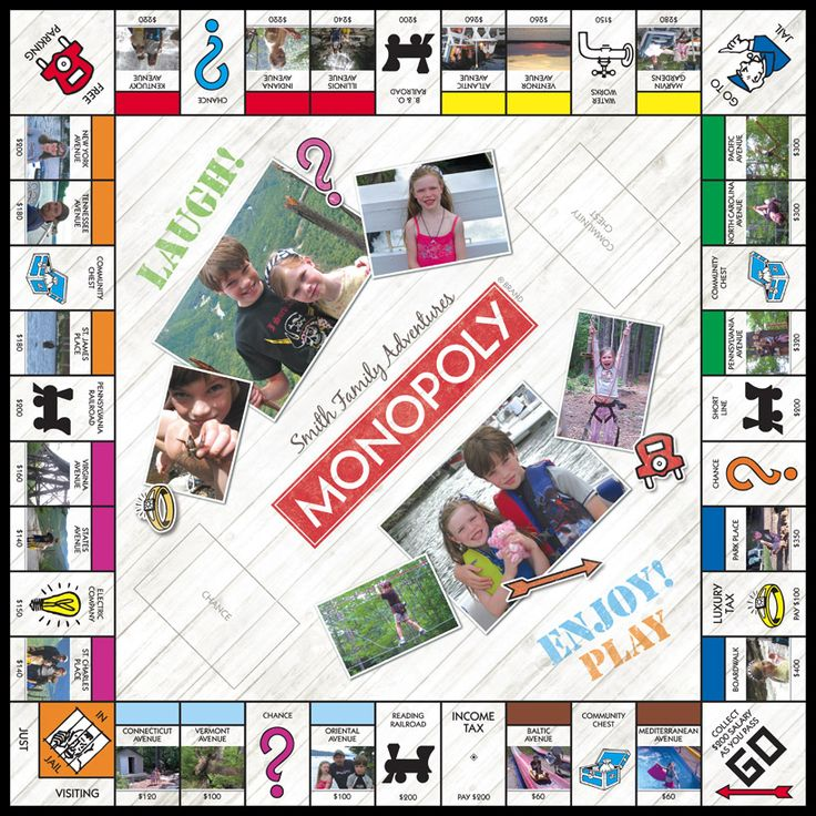 17 best images about personalized monopoly game samples for Custom monopoly board template