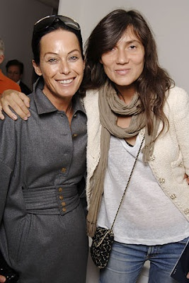-Lady Amanda Harlech & Emmanuelle Alt-