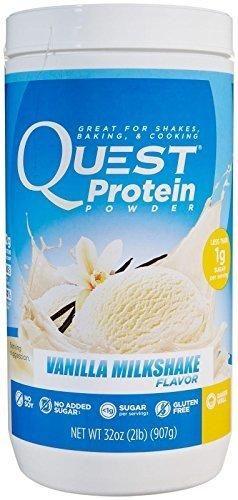 Quest Nutrition Protein Powder 2 Pounds Vanilla Milkshake (32 Servings) Quest-ld