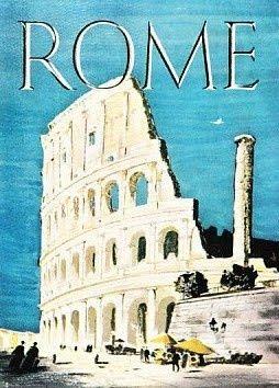 Rome/ Vintage Travel Poster