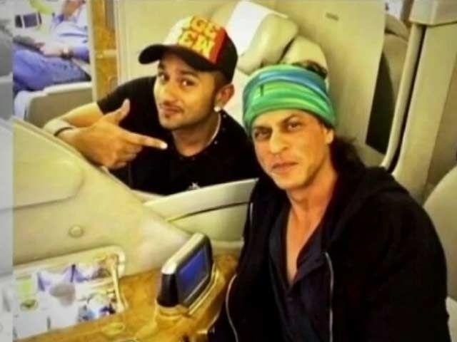 Yo Yo Honey Singh's Flying King Khan Class http://ndtv.in/1l9QyWz