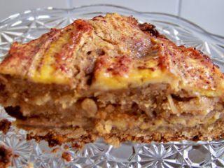 Torta de banana integral - Receita Petitchef