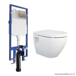 Evo Plus 51 Wall Hung Toilet Package/Mechanical Cistern