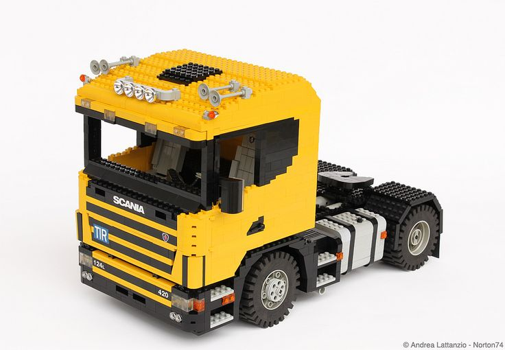 """YELLOW CAB"": SCANIA 124L"