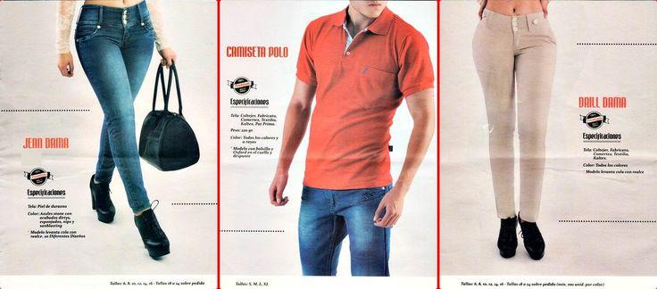 141211 - Jeans & Camisetas / CATALOGOS DE ROPA PARA VENDER