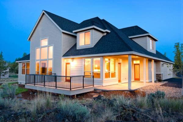 Nueva casa de madera tipo canadiense house and home - Casas de madera canadienses en espana ...