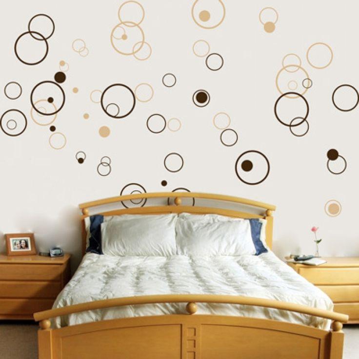 Circles   Bubbles   Set Of 72   Vinyl Wall Decals Bathroom.
