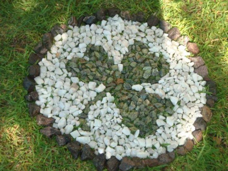 75 best images about decoraci n de jardines on pinterest - Disenos de jardines con piedras ...