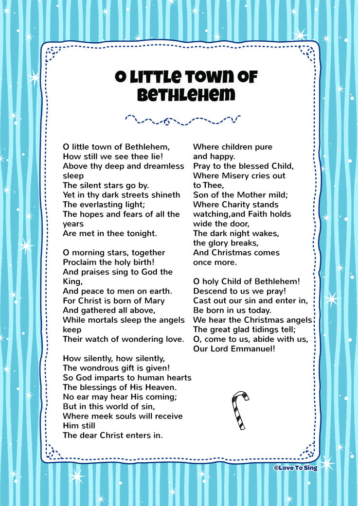 O Little Town Of Bethlehem (With images) Kids video
