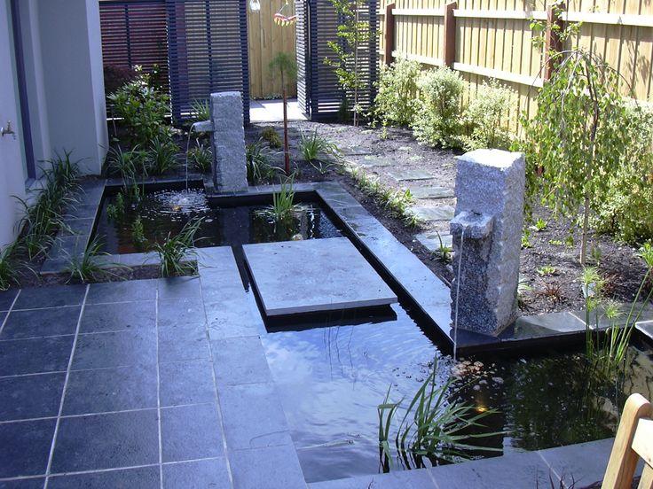 Granite spouts.  www.outdoorcreations.com.au