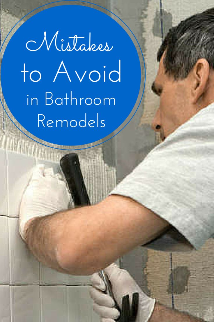 Mistakes every DIYer needs to avoid in a bathroom remodel