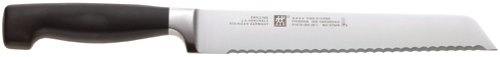 Zwilling J.A. Henckels Twin Four Star 8-Inch High Carbon Stainless Steel Bread knife