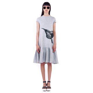 Daisy Grey Dress • Ioana Ciolacu