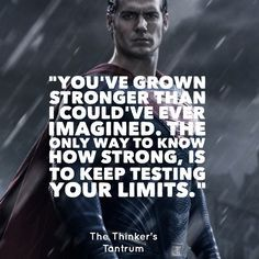 man of steel limits quote