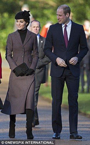 Carole White claimed Kate, pictured with husband Prince William, should be influenced by t...