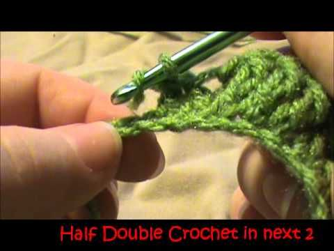 ▶ How to crochet a leaf - YouTube