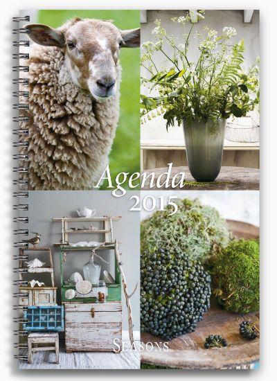 Seasons agenda magazine, Netherlands, Styling Linda van der Ham (Bouquet picture), Photographer Dennis Brandsma