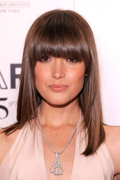 style in hair 1000 images about bangs on hairstyles 8697 | 95a8697ea724a72363dd6be49b020d85