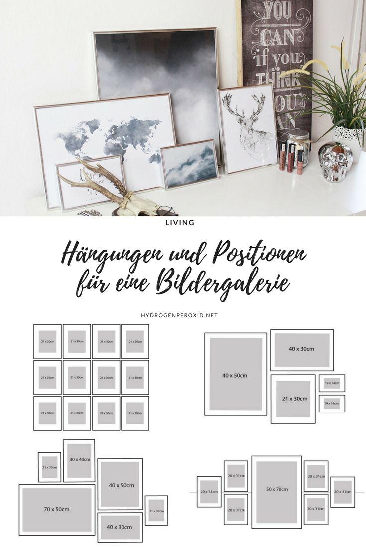 Bildergalerie für die Wohnung – Hängungen für den Eyecatcher