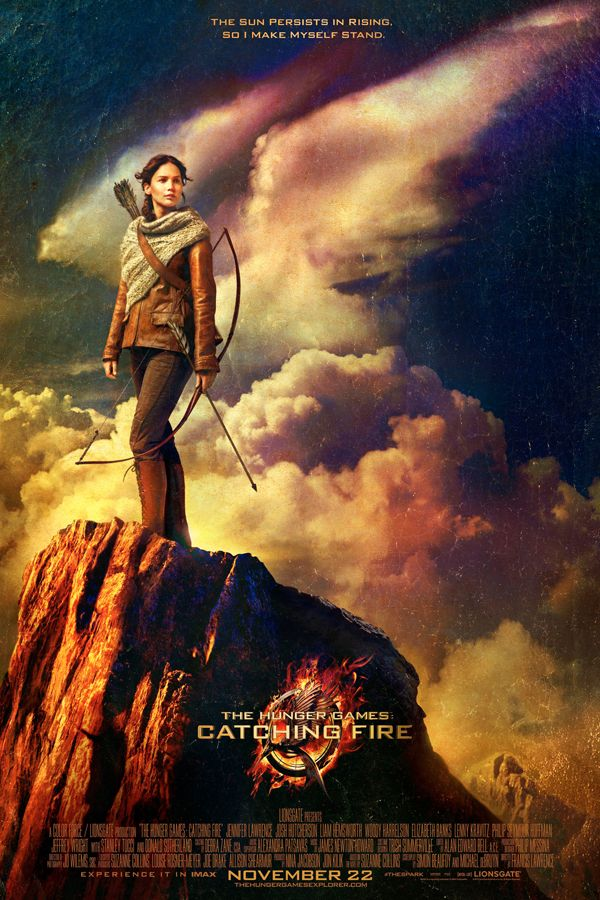 The First Hunger Games: Catching Fire Movie Poster Has Arrived (and Jennifer Lawrence Looks Awesome!)
