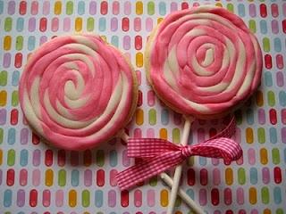 Bubble and Sweet: Lollipop, lollipop, oh oh lollipop - More Lollipop Cookies