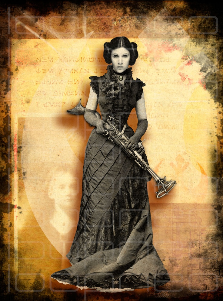 Princess Leia Steampunk Costume Inspiration Steampunk