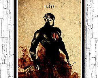 Hombre de acero Superman película minimalista cartel por moonposter