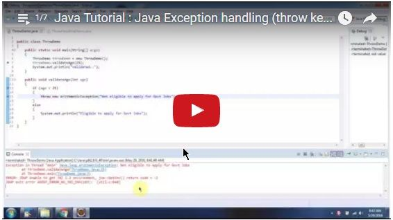 ramram43210,J2EE,Java,java tutorial,java tutorial for beginners,java tutorial for beginners with examples,java programming,java programming tutorial,java video tutorials,java basics,java basic tutorial,java basics for beginners,java interview questions and answers,java basic concepts,java basics tutorial for beginners,java programming language,java exception,exception handling in java,java exception handling tutorial,checked exception,unchecked exception