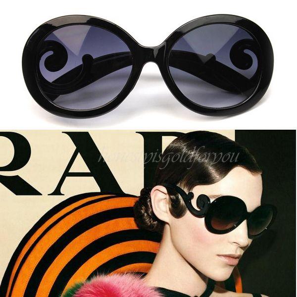 Butterfly Swirl Sunglasses Black