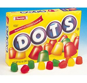 Dots Candy 7.5-Ounce Theater Packs: 12-Piece Case