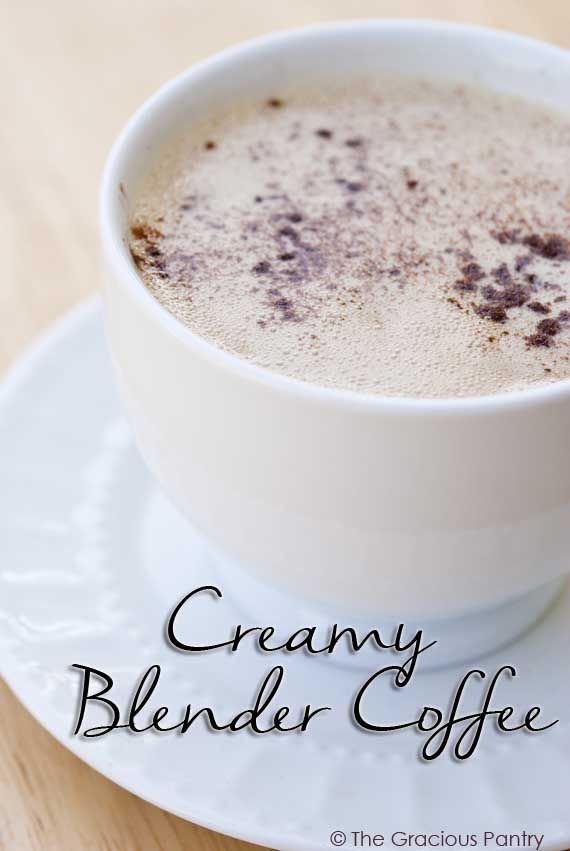 Clean Eating Blender Coffee - coconut oil, vanilla and cinnamon - yum! From A…