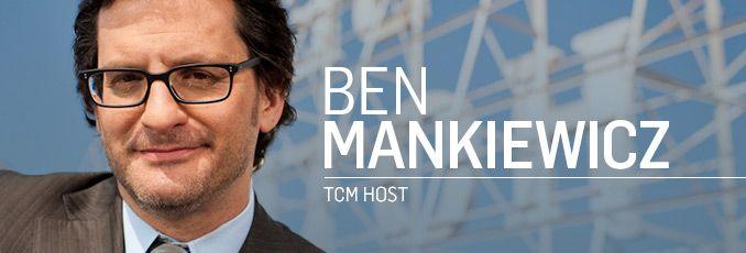 Ben Mankiewicz - TCM Host -- on October films featuring fictional US Presidents