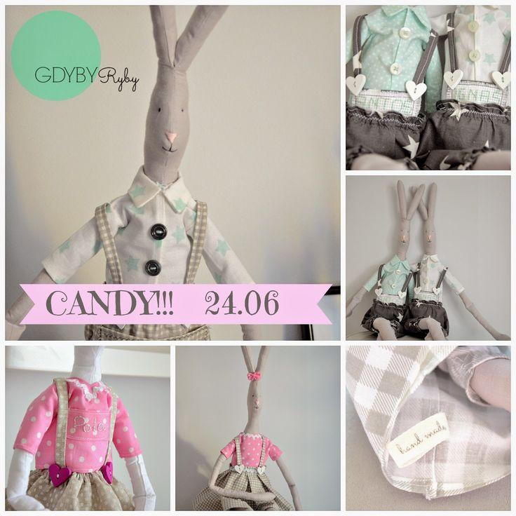 Candy urodzinowe! GDYBYRyby na Facebooku!