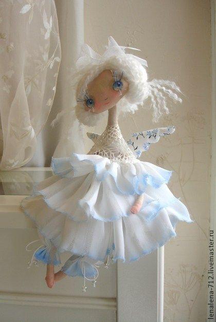 Коллекционные куклы ручной работы. Ярмарка Мастеров - ручная работа ещё одно Счастье...Белоснежное. Handmade.