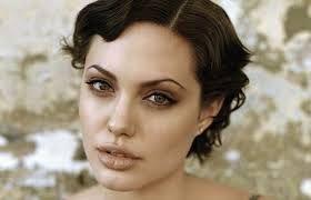 Image result for angelina jolie short hair