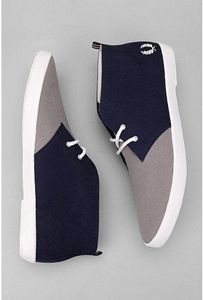 Fred Perry UO Exclusive Canvas Byron Chukka Sneaker- Summer feet at the ready.