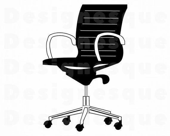 Office Chair Svg Computer Chair Svg Office Chair Clipart Etsy In 2020 Computer Chair Office Chair Clip Art
