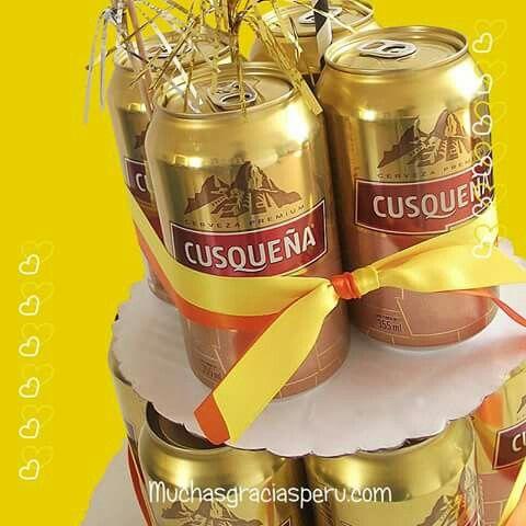 Cerveza regalos gifts torta de cervezas beer cake