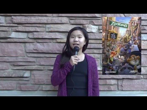 Interview with Zootopia Animation Supervisor, Kira Lehtomaki conducted by KIDS FIRST! Film Critic Mia A. #Disney #Zootopia