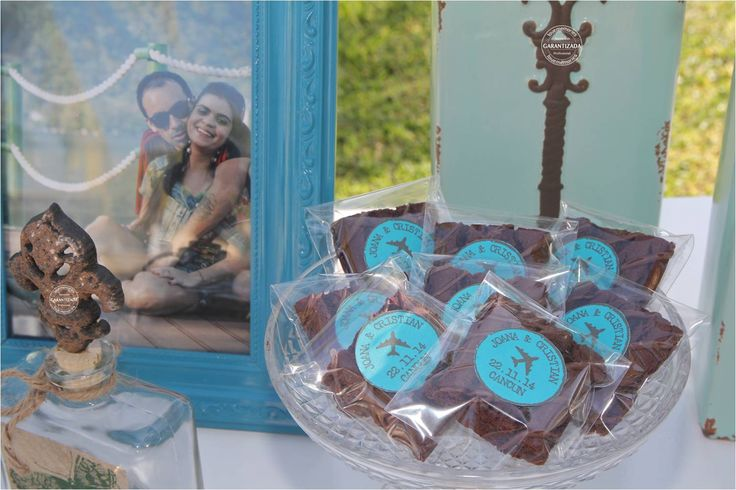 Brownies personalizados #LoveMemoriesWeddings