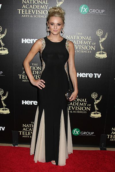 """""""The Young and the Restless'"""" Hunter King (Summer Newman) may have taken home the award for Outstanding Younger Actress during the 41st Annual Daytime Emmy Awards, but she certainly wasn't expecting it! ...."""