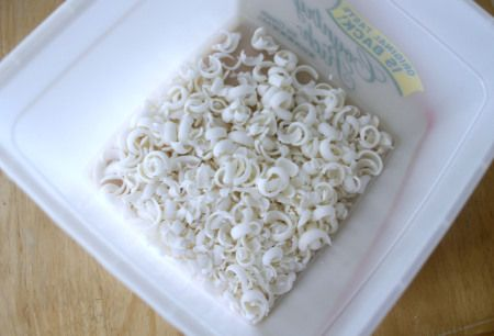 Grated Soap In Container